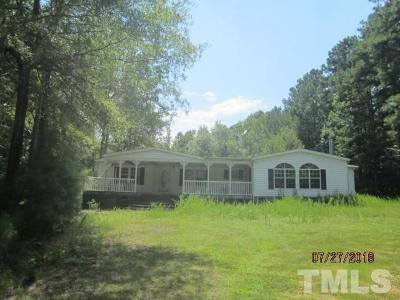 Granville County Manufactured Home Pending: 1614 Leigh Drive