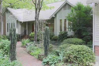 Raleigh Single Family Home For Sale: 4905 Stoneridge Drive