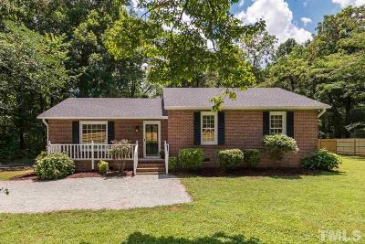 Durham Single Family Home Contingent: 4305 Us 70 Highway