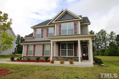 Knightdale Single Family Home Contingent: 1416 Stone Wealth Drive