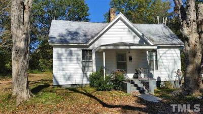 Franklinton Single Family Home For Sale: 109 Mill Street