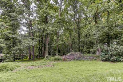 Raleigh Residential Lots & Land Contingent: 6608 Brandywine Road