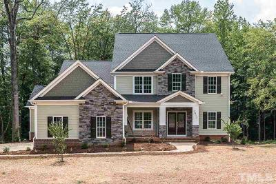 Mebane Single Family Home For Sale: 5013 Harvestview Drive