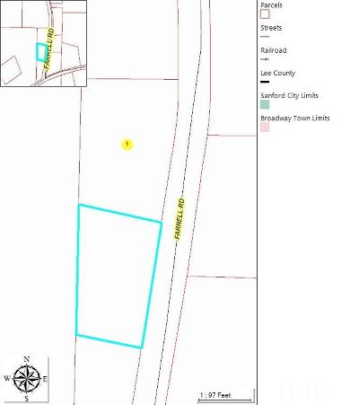 Lee County Residential Lots & Land For Sale: Farrell Road