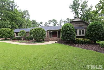 Garner Single Family Home For Sale: 703 Hillandale Lane