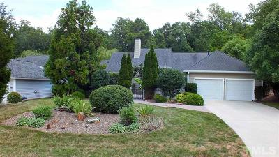 Pittsboro Single Family Home For Sale: 1376 Bradford Place