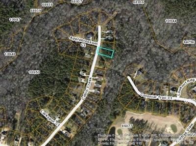 Chatham County Residential Lots & Land For Sale: 992 Cabin Creek