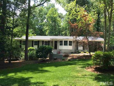 Chapel Hill Single Family Home For Sale: 804 Tinkerbell Road