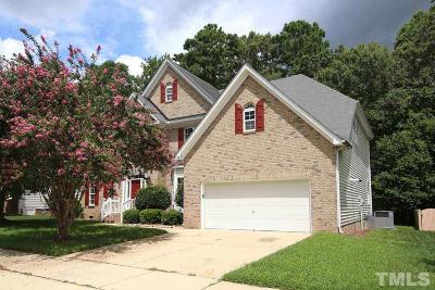 Raleigh Single Family Home For Sale: 5721 Clarks Fork Drive