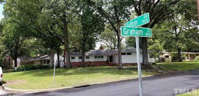 Raleigh Single Family Home For Sale: 805 Graham