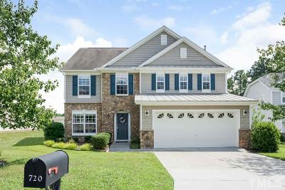 Durham Single Family Home For Sale: 720 Weathervane Drive