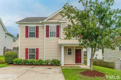 Knightdale Single Family Home Pending: 1105 Tellis Drive