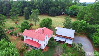 Siler City Single Family Home Contingent: 35 Pin Oak Knoll