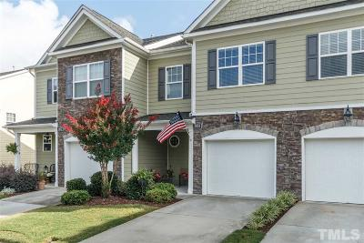 Wake Forest Townhouse For Sale: 3859 Wild Meadow Lane
