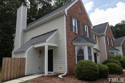 Chapel Hill Condo For Sale: 9 Forest Glen Drive #9