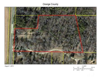 Hillsborough Residential Lots & Land Contingent: 6400 Rocky Ridge Road
