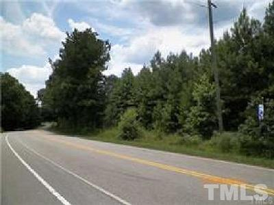 Wake County Residential Lots & Land For Sale: Buckhorn Duncan Road