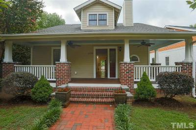 Durham Single Family Home For Sale: 1426 N Roxboro Street