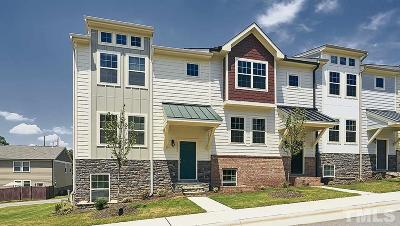 Wake Forest Townhouse For Sale: 1013 Morningside Creek Way
