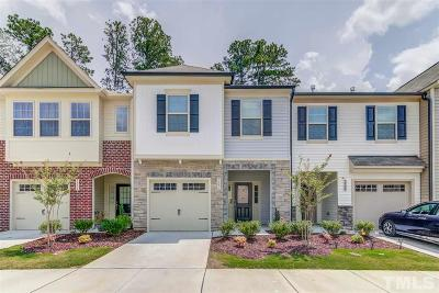 Wake Forest Townhouse For Sale: 3806 Prince Noah Loop