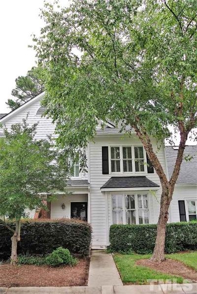Cary Townhouse Contingent: 405 Center Pointe Drive