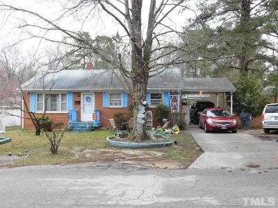Single Family Home For Sale: 809 Eastway Drive