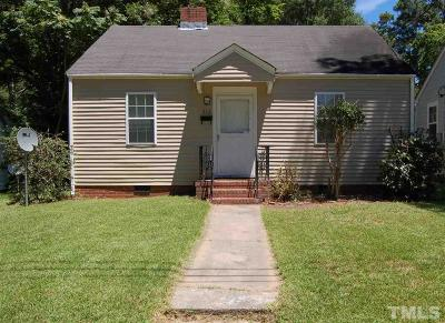 Durham Single Family Home For Sale: 512 Spruce Street