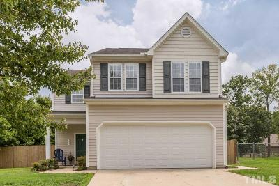 Knightdale Single Family Home Contingent: 204 Caribbean Court