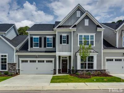Wake County Townhouse For Sale: 706 Chelsea Grove Drive #2