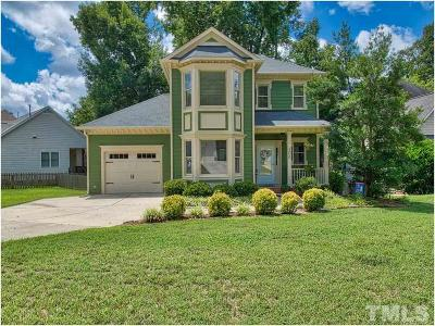 Apex Single Family Home Contingent: 106 Tracey Creek Court