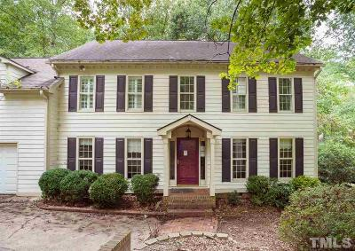 Wake County Single Family Home For Sale: 3309 Marblehead Lane