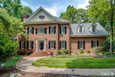 Durham Single Family Home Contingent: 2112 Vintage Hill Drive