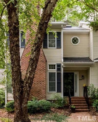 Pittsboro Townhouse For Sale: 308 Baneberry Close