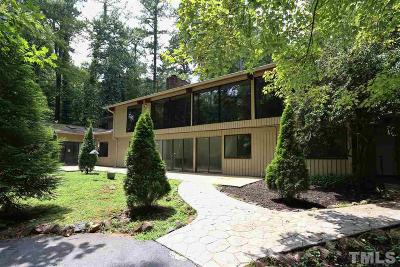Chapel Hill Single Family Home For Sale: 1436 Poinsett Drive