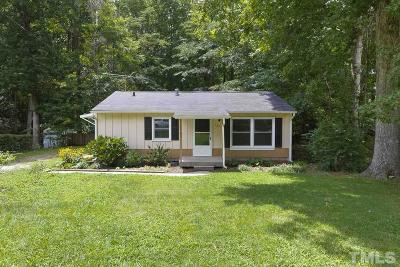 Cary Single Family Home Contingent: 523 Madison Avenue
