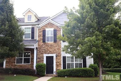Knightdale Townhouse For Sale: 500 Sternwheel Way