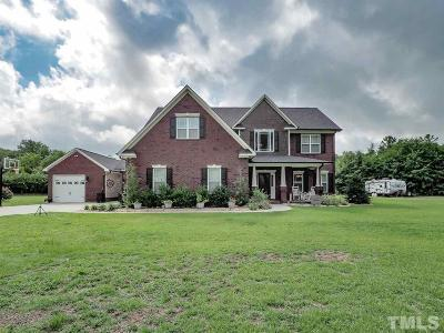 Holly Springs Single Family Home For Sale: 6205 O C Hester Road