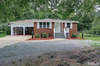 Raleigh NC Single Family Home Pending: $179,900