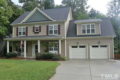 Holly Springs Single Family Home Contingent: 405 Acorn Falls Court