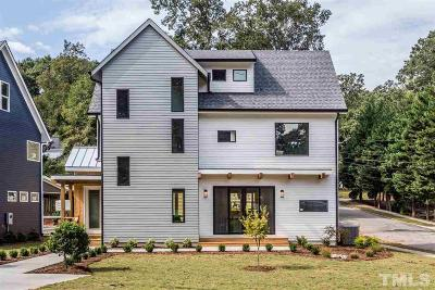 Raleigh Single Family Home For Sale: 313 Taylor Street
