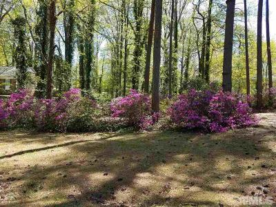 Raleigh Residential Lots & Land For Sale: 1700 Brooks Avenue