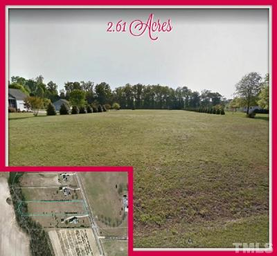 Harnett County Residential Lots & Land For Sale: N Old Stage Road