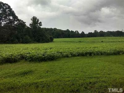 Wake County Residential Lots & Land For Sale: 4009 Benson Road