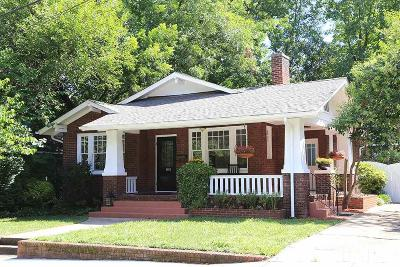 Wake County Single Family Home Pending: 1906 Sunset Drive