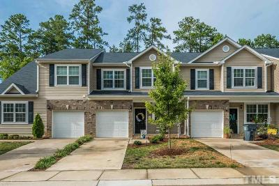 Holly Springs Townhouse For Sale: 157 Florians Drive