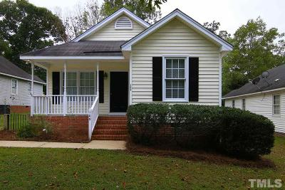 Knightdale Single Family Home Contingent: 109 Maple Street