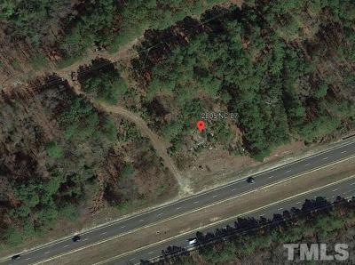 Harnett County Commercial Lots & Land For Sale: 2805 Nc 87 Highway