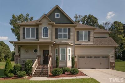 Youngsville Single Family Home Contingent: 40 Walnut View Court