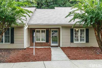 Durham Townhouse For Sale: 31 Crystal Oaks Court