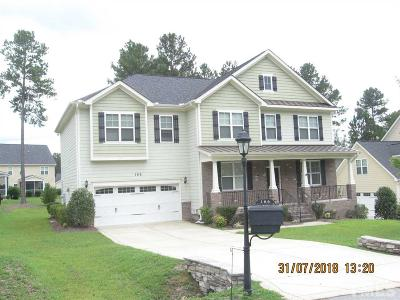 Harnett County Single Family Home For Sale: 186 Valley Pines Circle